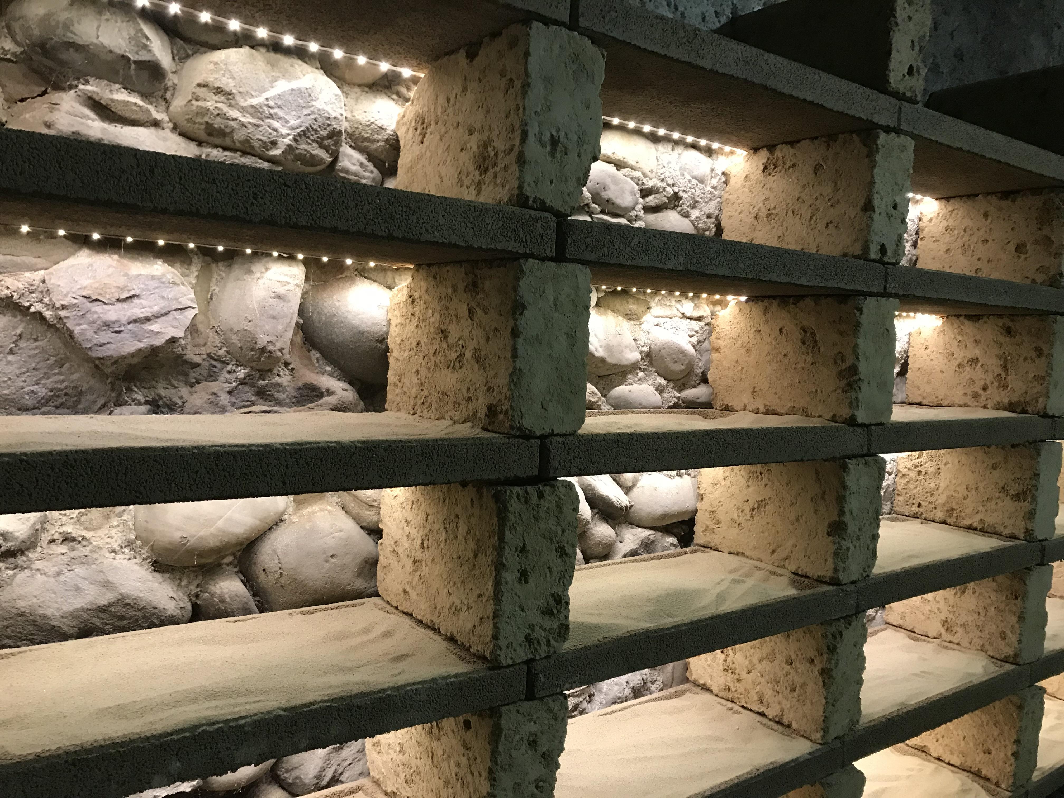 Fabriquer Casier À Bouteilles En Bois casier à bouteilles en pierre | cave à vin.ch